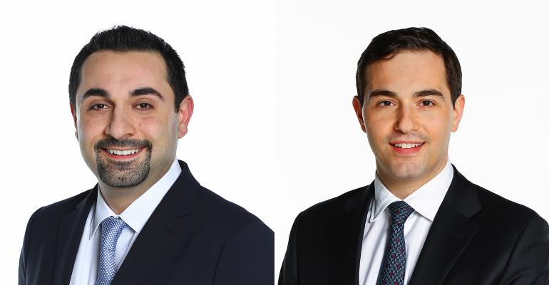 Mo Haghbin and David Mazza