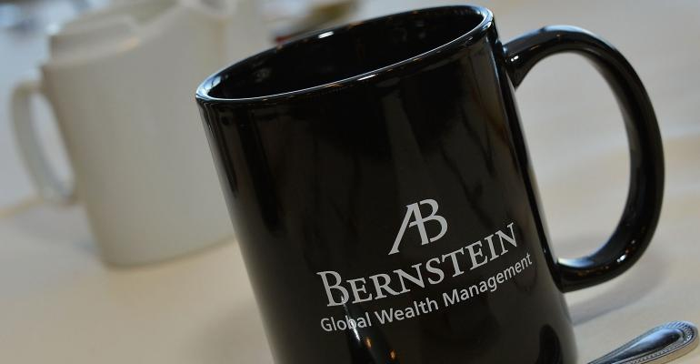 AllianceBernstein coffee mug