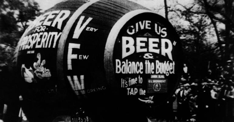 Beer barrel prohibition