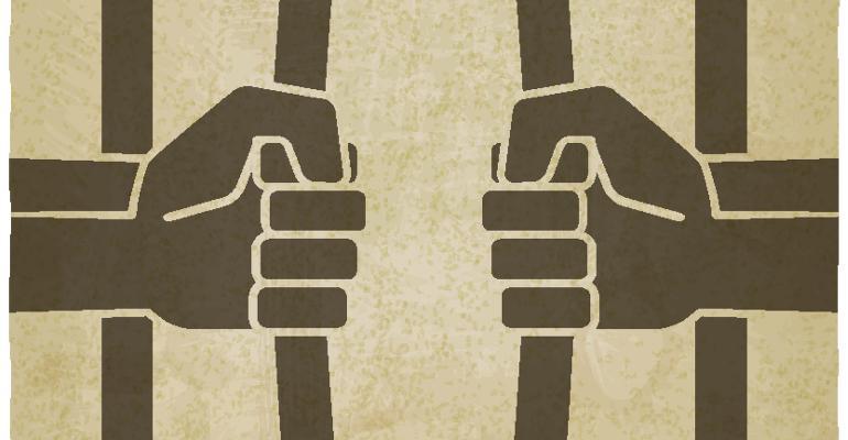 bending prison bars