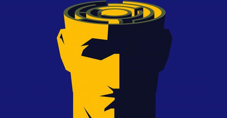 brain maze illustration