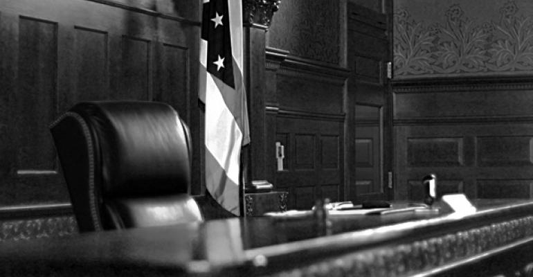 courtroom judge bench
