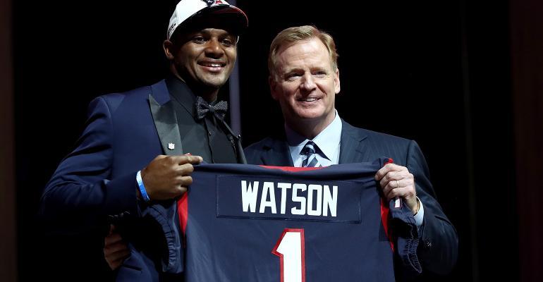 Deshaun Watson NFL draft