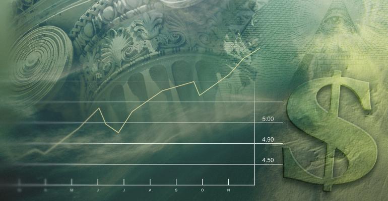 dollar sign money chart