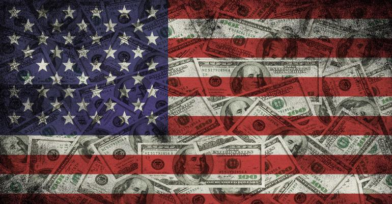 dollars flag