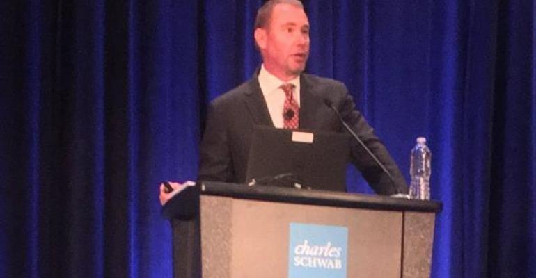 Jeffrey Gundlach spoke at the annual Schwab IMPACT conference in San Diego.