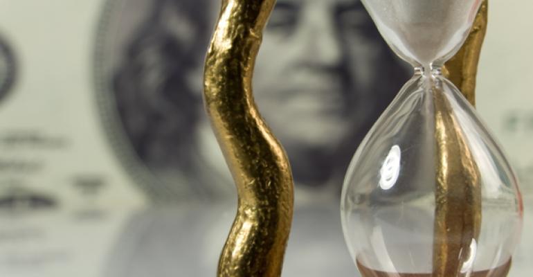 hourglass money