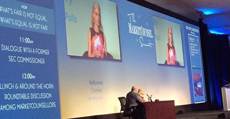 Kellyanne Conway MarketCounsel Summit