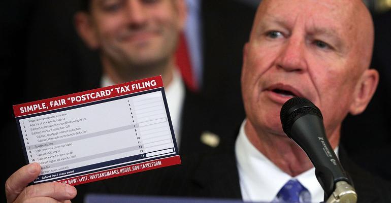 Kevin Brady tax postcard