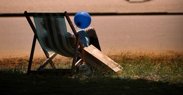 lawn chair sun