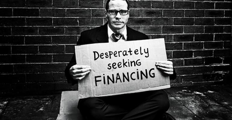 desperately seeking financing