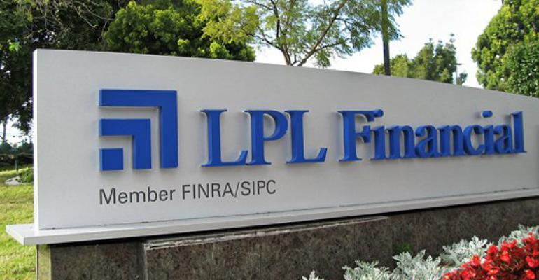 LPL financial sign