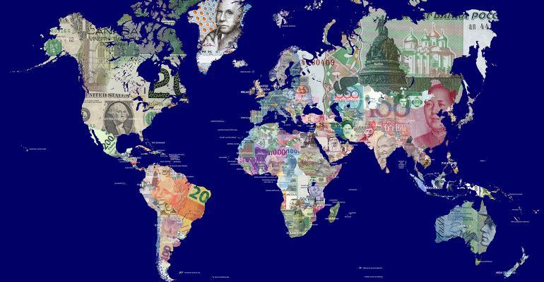 global wealth money map