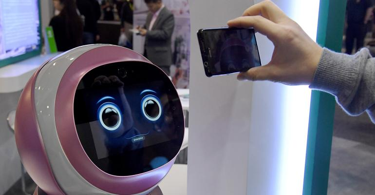 robot smartphone