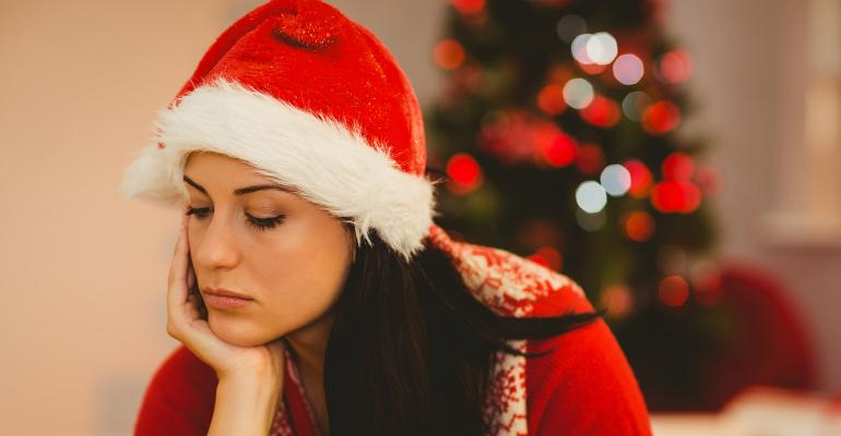 sad holidays