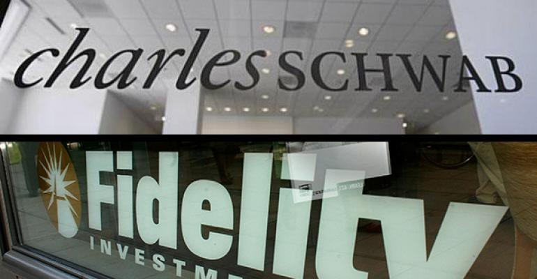 Schwab and Fidelity
