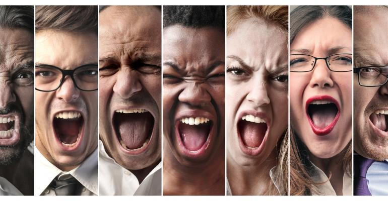 screaming faces