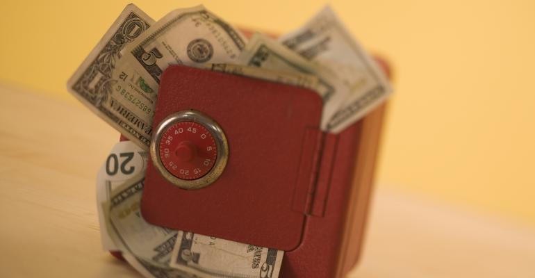 small safe money
