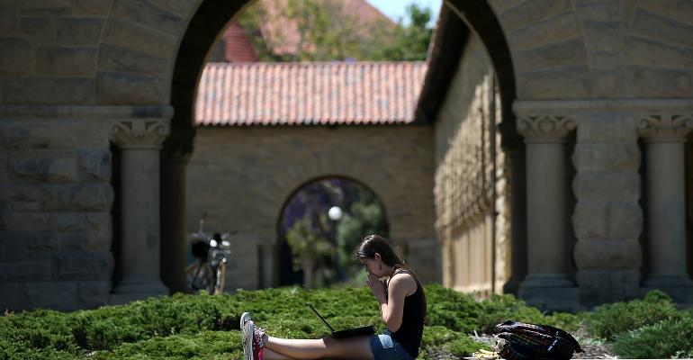 stanford college campus