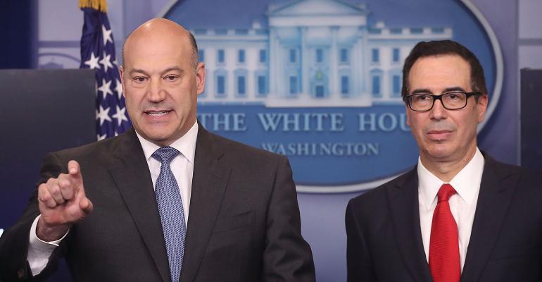 Steve Mnuchin and Gary Cohn
