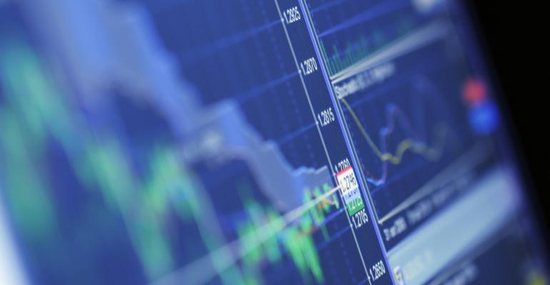 stock market chart data