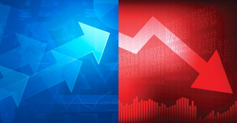 stock market winners losers