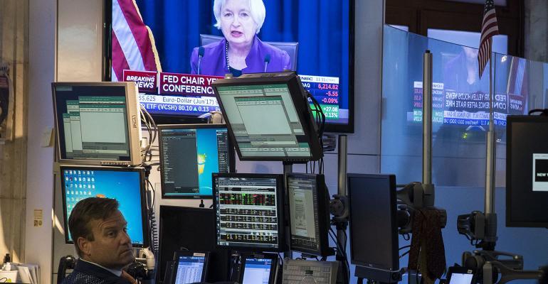 stock market janet yellen