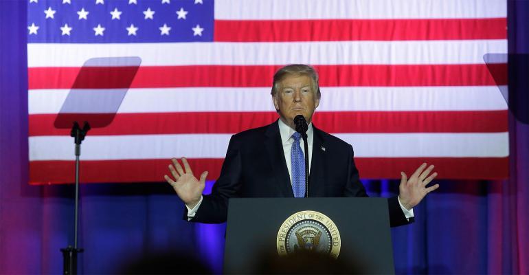 Trump tax speech