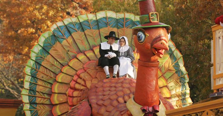 Thanksgiving parade turkey