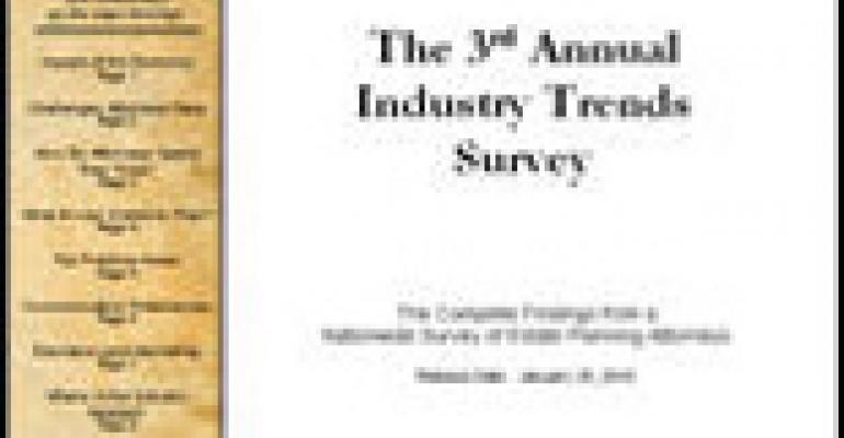 2009 Trends Survey