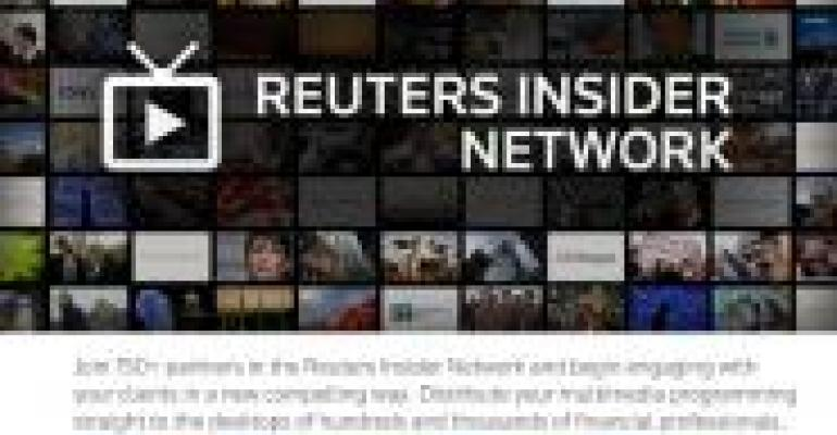 Registered Rep. Partners with Reuters Insider, the YouTube of Finance