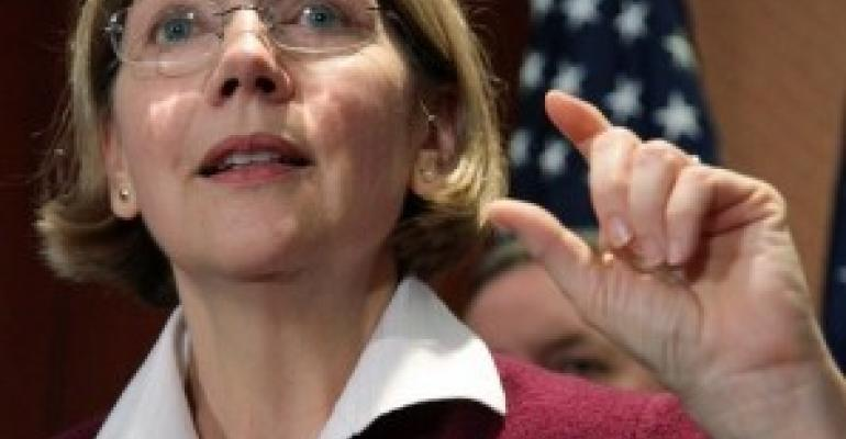 Republicans Take Aim at Consumer Bureau; Elizabeth Warren Gets A Valentine