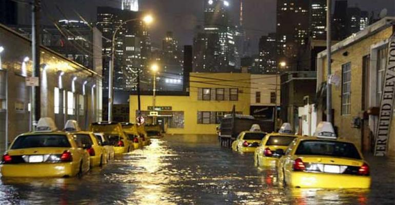 Pictures of Sandy. Nasdaq, NYSE to Stay Closed. ARCA up and Running