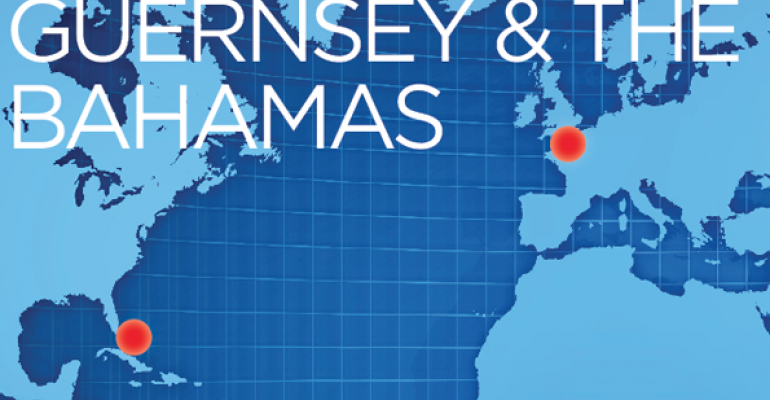 Guernsey and the Bahamas