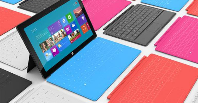 Surface to Air: Is Surface Going to be a Player in Financial Services?