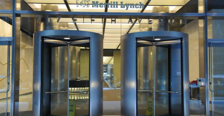 Merrill Earnings Surge Even as Broker Headcount Sinks