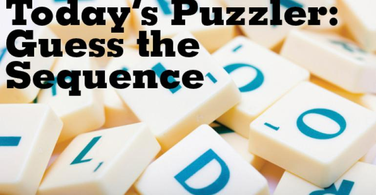 The Puzzler #39: Guess The Sequence