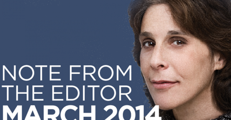Editor's Note: March 2014