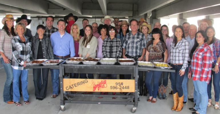 Summit Rustles Up a Cowboy BBQ