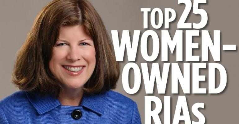2014 Top 25 Women-Owned RIAs