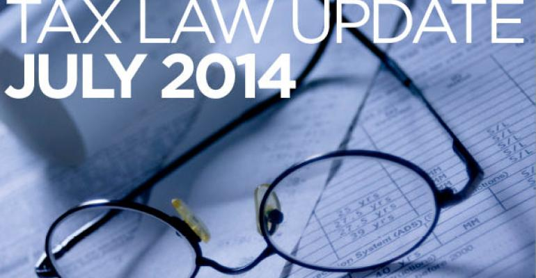 Tax Law Update: July 2014