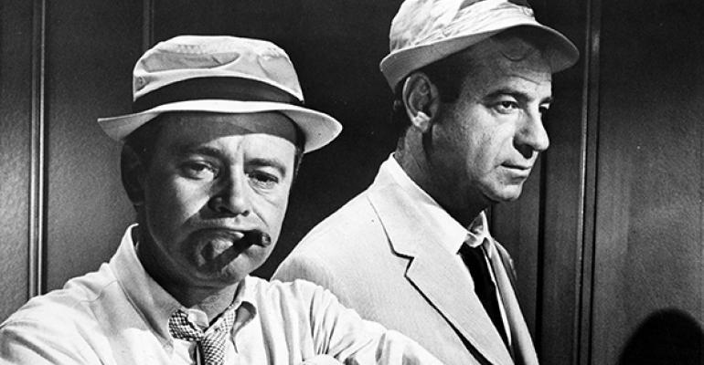 The Odd Couple  Walter Matheu Jack Lemon