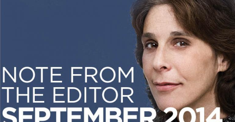 Editor's Note: September 2014