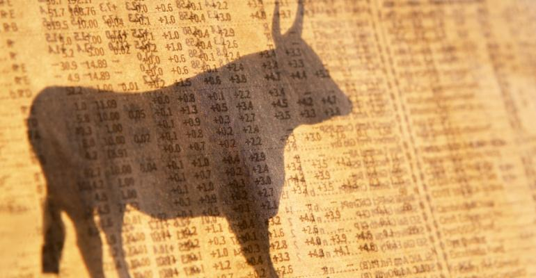 Bulls Charge Despite Weak Data