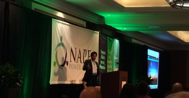 Hardeep Walia cofounder and CEO of Motif Investing speaks at NAPFA39s fall conference in Charlotte NC