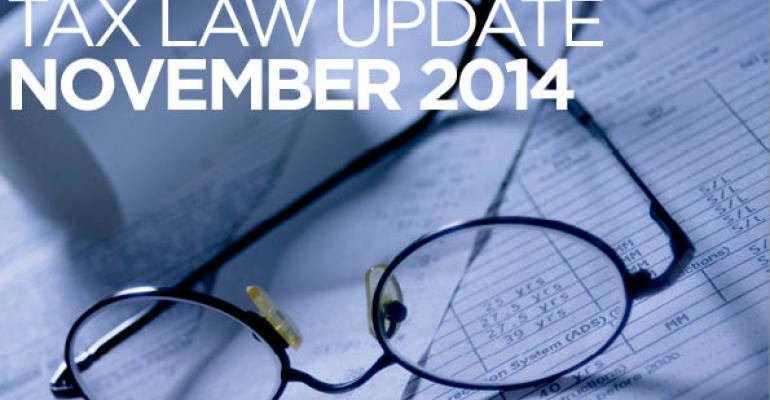 Tax Law Update: November 2014