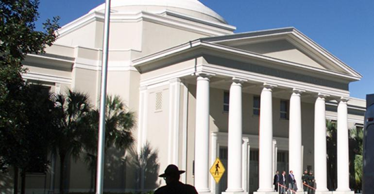 The Florida State Supreme Court building