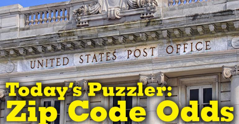 The Puzzler #45 Part 1: Zip Code Odds