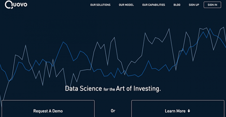 Q&A: Marrying Money To Data Science
