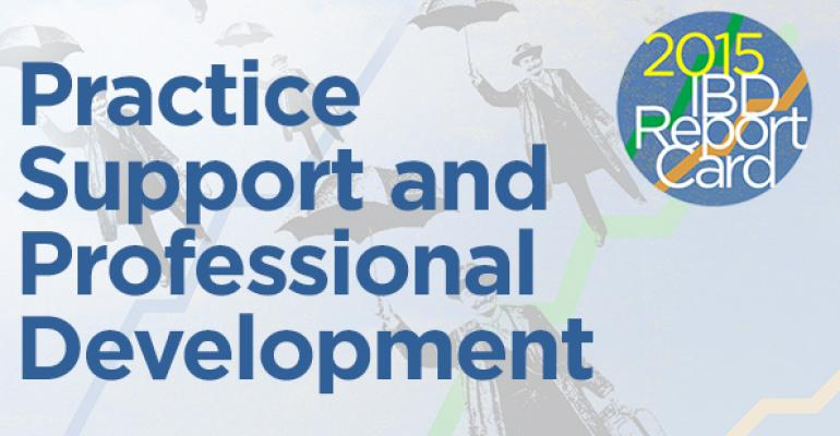 2015 IBD Report Card: Practice Support and Professional Development Ranking
